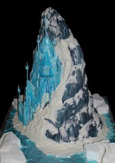 I have made the Frozen Castle Cake 3 times so far… I hope I don't have to do it again for a while… LOL! The first one I made was in April of 2014, and that's the other one I've uploaded to this website. This one was made in August of 2014. I have...