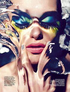 Masha Rudenko by Dirk Bader for 1st Magazine