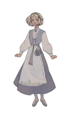 Legend of Zelda Breath of the Wild sequel inspired concept art > Princess Zelda in folk dress style > botw 2 Fantasy Character Design, Character Design Inspiration, Character Concept, Character Art, Concept Art, Dnd Characters, Fantasy Characters, Pretty Art, Cute Art