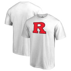 Rutgers Scarlet Knights Fanatics Branded Primary Team Logo T-Shirt - White