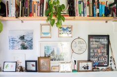 Names: Alexandra Piotrowski and Max Ostrove Location: Venice, California Size: 576 square feet Years lived in: 1.5 years; Rented From the moment you enter Alex and Max's bright, un-fussy home, it's evident that every item has a story. The beautiful wood shelving and furniture becomes all the more warm to the touch when you learn that much of it was handcrafted by the inhabitants. Max (a television producer/director by day, maker by night) and Alex (a business consultant and founder of…