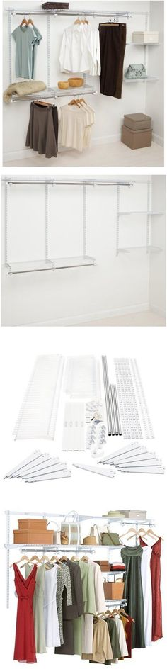 Closet Organizers 43503: Closet Rod Kit Configurations Closet Kits, 4 8 Ft.