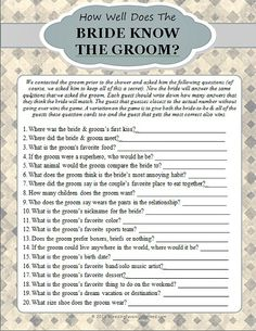 Free Printable Bridal Shower Games 5
