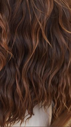 The perfect picture to show your hairdresser if you want beachy waves and caramel highlights