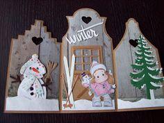 oma's kaartenhoekje: Winter