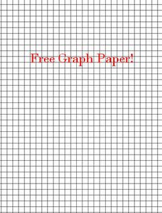Free Printable Graph Paper Blank Standard And Metric Graph Paper