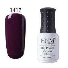 8ML Easy Soak Off UV Gel Nail Polish 58 Colors Nail Gel Polish