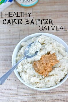 Cake batter for breakfast? You bet. Gluten free, high in protein and tastes EXACTLY like cake batter- start your morning in a sinfully nutritious way! #glutenfree