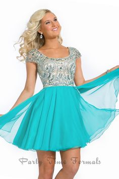 Party Time - Style 6303 #homecoming #dresses