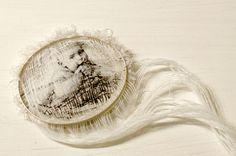 LEILA ARZAGHI-UK , Lost Memory, Brooch, Yarn, silver