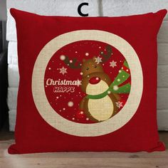 Personalized Christmas decorative pillow for home decoration
