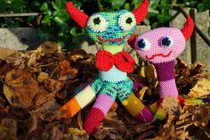 Crochet Monsters, Halloween Crochet, Little Monsters, Crochet Toys, Beast, Etsy Shop, Christmas Ornaments, Holiday Decor, Pattern