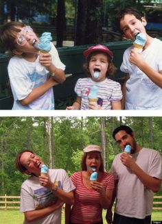 Awesome-Recreated-Childhood-and-Family-Photograph - Pesquisa Google