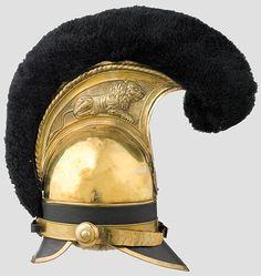 Elmetto della guardia bavarese, 1814