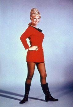 Yeoman Janice Rand - Grace Lee Whitney - Star Trek, TV Series 1966 ---- RIP 2015