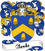 Claude Coat of Arms  Claude Family Crest   VIEW OUR FRENCH COAT OF ARMS / FRENCH FAMILY CREST PRODUCTS HERE