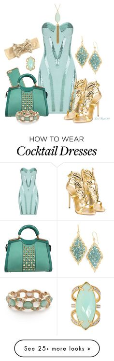 """sequin dress"" by leeann829 on Polyvore featuring Giuseppe Zanotti, Panacea, Napier, Henri Bendel, women's clothing, women, female, woman, misses and juniors"