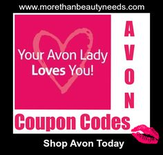Avon #Coupon Codes - Shop Today (Savings Always) Avon Coupon Codes, Coupon codes, Online #Savings, Promotions, gift ideas, Frugal Living, Save, I love Coupons, Coupon mom,Couponers,