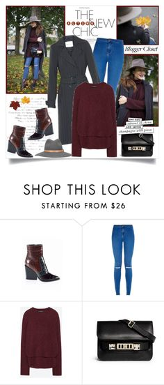 """The New Autumn Chic"" by annabu ❤ liked on Polyvore featuring Zara, Proenza Schouler, rag & bone and Kate Spade"