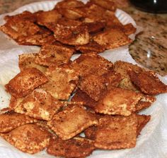 What's Cookin' Italian Style Cuisine: FRIED RAVIOLI