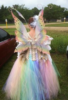 Bubble Fairy Costume back by glittrrgrrl.deviantart.com on @DeviantArt