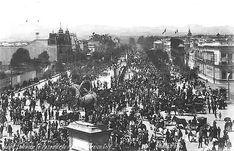 Reforma en las fiestas del Centenario. 1910