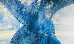 field of dreams: anja rubik by inez & vinoodh for porter #4 fall 2014