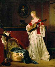 Marguerite Gérard - Sleep my child 1788 - Pinterest
