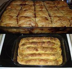 Τυρόπιτα και Κοτομανιταρόπιτα! 2 Εξαιρετικές πίτες από τις Χρυσοχέρες! Δείτε τις Συνταγές! Pita Bread, Greek Recipes, Hot Dog Buns, Food And Drink, Savoury Pies, Desserts, Lent, Pastries, Pizza