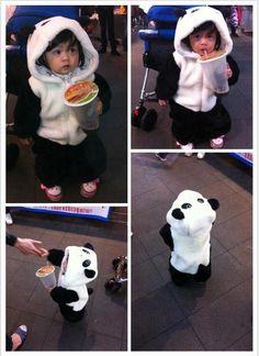 Panda | 25 DIY Halloween Costumes Guaranteed To Keep You Warm