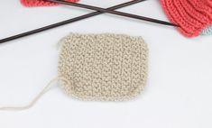 Punto de Arroz Doble Tutorial paso a paso para aprender a tejer punto arroz doble a dos agujas, un tipo de punto muy utilizado y sencillo de hacer.