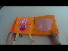 KEÇE AKTİVİTE KİTABI ÖRNEĞİ #VLOG-Felt Quiet Book