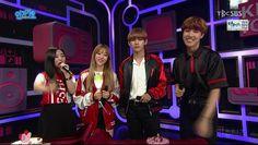 V and J-Hope as MCs at Inkigayo! ❤ #BTS #방탄소년단