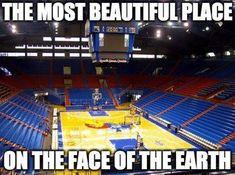 Beware all who enter Kansas Jayhawks Basketball, Kansas Basketball, Basketball Tips, University Of Kansas, Kansas City, Go Ku, U Rock, Kentucky Wildcats, Beautiful Places