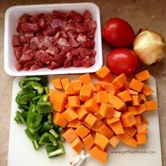 Hearty Beef and Butternut Squash Stew {21 Day Fix Extreme} - Get Fit With Nikki