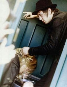 Petr holding Kate's hair while snorting cocaine   L. O. V. E.  