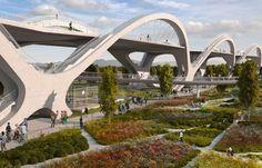 L.A. Bridge Project Elevates Contemporary Design - http://freshome.com/la-bridge-project-elevates-contemporary-design/