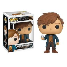 This is the Funko Fantastic Beasts POP Newt Scamander Vinyl Figure that is produced by Funko. It's neat to see that Funko decided to give the Fantastic Beasts a