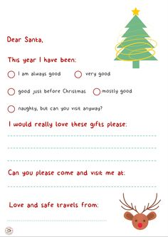 CREATE: Letter to Santa Activity Box, Santa Letter, Dear Santa, Before Christmas, Activities For Kids, Lettering, Create, Gifts, Letter From Santa