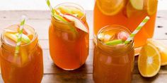 Say so long, farewell to summer with apple cider sangria.
