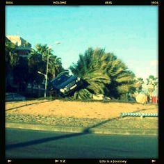 #molo #molome #molomianos Es como un mal chiste. ¿Dónde puedo aparcar? Esto ha ocurrido en #Mataró. Foto de @annasalicru.