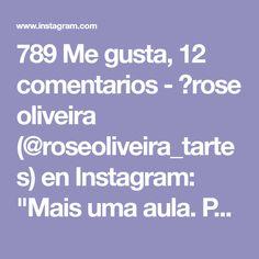"""789 Me gusta, 12 comentarios - 💮rose oliveira (@roseoliveira_tartes) en Instagram: """"Mais uma aula. Ponto lindinho para aprender 👍👏 #videoaulas #crochet #fiodemalha Via @rudenok.a"""""""