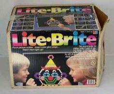 lite-brite...oh boy, always had one of these!
