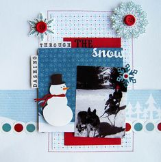 Dashing Through The Snow *My Creative Scrapbook* - Scrapbook.com