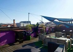 Berlin Rooftop-Bars,: baxpax Hostel