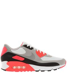 Nike Red Air Max 90 V SP Patch Trainers   Womenswear   Liberty.co.uk