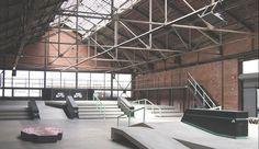Skatepark Design and Construction Portfolio - California Skateparks Halle, California Skateparks, Nike Skateboarding, Sport Park, Parking Design, Skate Park, Big Houses, Stairs, Construction
