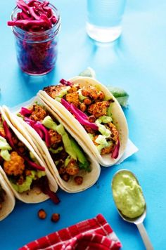 You won't miss the meat with these mouthwatering veggie tacos!