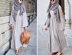 Elif Doğan Kıyafet Modelleri Modern Hijab Fashion, Abaya Fashion, Muslim Fashion, Modest Fashion, Fashion Outfits, Modest Wear, Modest Dresses, Modest Outfits, Abaya Designs