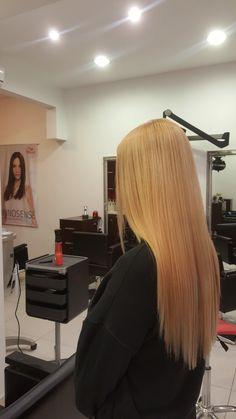 #hair #longhair #hairstyle #orange #blonde